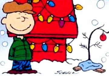 Charlie Brown - božična smrečica
