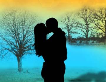 Božični poljub